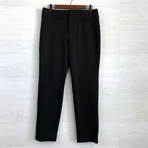 Michael Michael Kors Black Flat Front Trousers